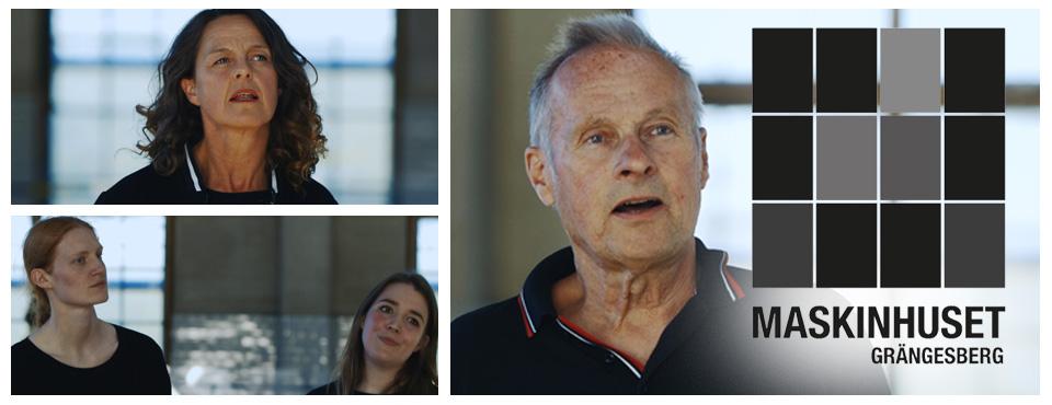 Reportage: Ljudutställning på Maskinhuset i Grängesberg